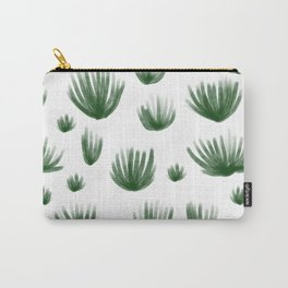 Organ Pipe Cactus: White Carry-All Pouch