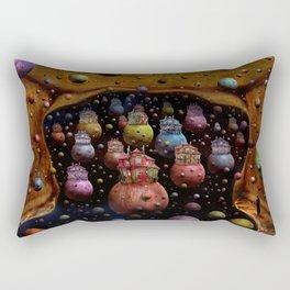 Die Ankunft Rectangular Pillow