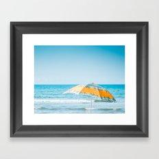 Dreaming of summer Framed Art Print