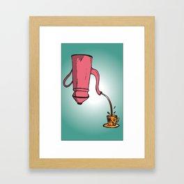 Defy Gravity Framed Art Print