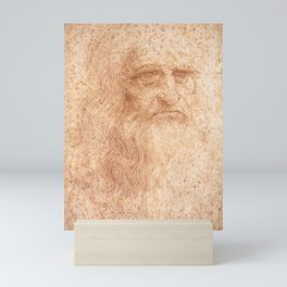 Classic Art - Leonardo da Vinci by Leonardo da Vinci Mini Art Print