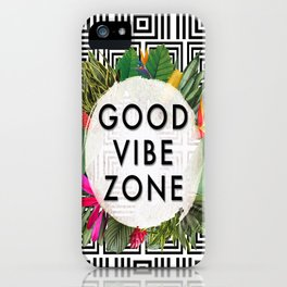 (((( Good Vibes )))) iPhone Case