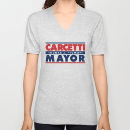 CARCETTI FOR MAYOR Unisex V-Neck