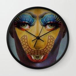 Jungle eyes Wall Clock