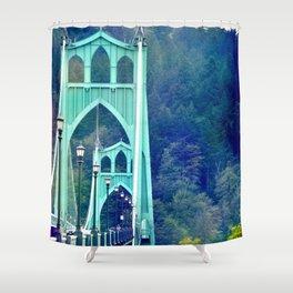 ST. JOHN'S BRIDGE Shower Curtain