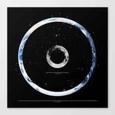 Terra Luna Canvas Print