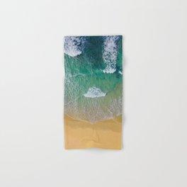 Ocean from the sky Hand & Bath Towel