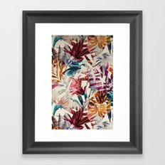 Tulip pattern Framed Art Print