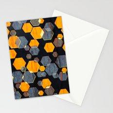 construct hex v3 Stationery Cards