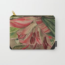 Flowers Drowning series - Asiatic lily Carry-All Pouch