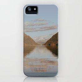 Alouette Lake iPhone Case