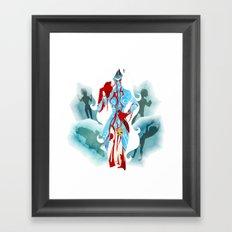 Marvel - Frost Giantess Framed Art Print