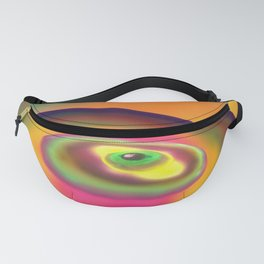 Nipple on the female breast Fanny Pack