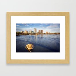 Richmond and the James River Framed Art Print