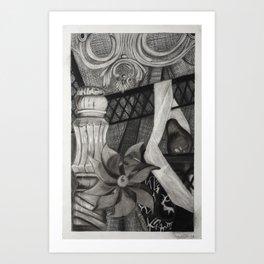 Perpetual Pinwheel Art Print