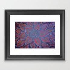 WILDFLOWER IN BLOOM Framed Art Print