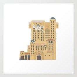 Tower of Terror at DCA Art Print