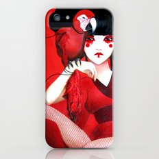 Kimiko the Geisha in Red Slim Case iPhone (5, 5s)