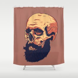 Mr. Skull Shower Curtain
