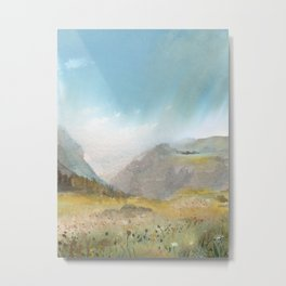 Monashee Mountains Metal Print