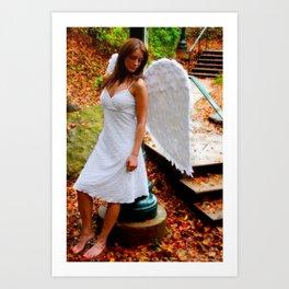 """""""Angel Among Us, image 5"""" Art Print"""