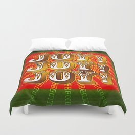Joy! Joy! Joy! Duvet Cover