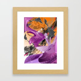 Sabor Latina Framed Art Print