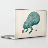 monster Laptop & iPad Skins featuring Monster by robordw