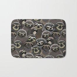Social Sloths Bath Mat