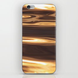 Water Sunset Pattern iPhone Skin