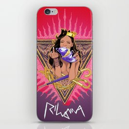 RIHANNA TEAS iPhone Skin