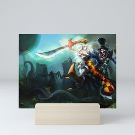 Mad Hatter Shaco League of Legends Mini Art Print