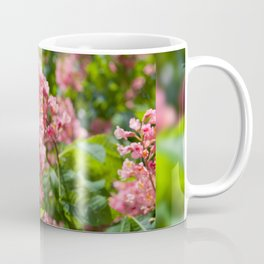 Aesculus red blossom cluster Coffee Mug