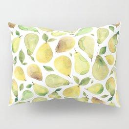 Watercolour Pears Pillow Sham