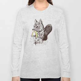 Strange Fox Long Sleeve T-shirt