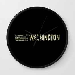 Black Flag: Washington Wall Clock