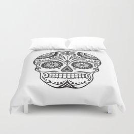 Day of the Dead Sugar Skull Duvet Cover