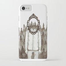 Forest Mirror iPhone 7 Slim Case