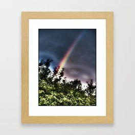 Unicorn Blast-off Framed Art Print