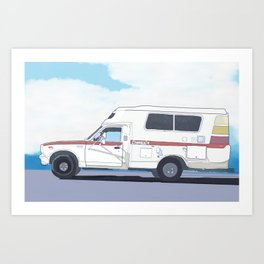 Chinook Art Print