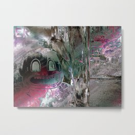 Diverge a settlements thirst. Metal Print