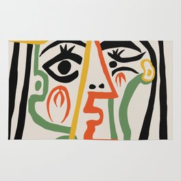 Picasso - Woman's head #1 Rug