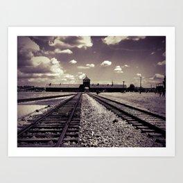 Auschwitz Birkenau Art Print