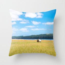 Myponga Bales Throw Pillow
