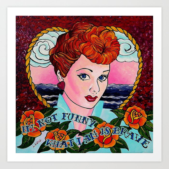 Do You Love Lucy? Art Print