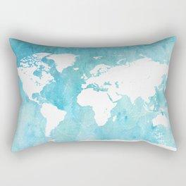 World map. JD Rectangular Pillow