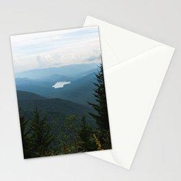 Smoky Mountain National Park -  Mountain Lake Landscape Stationery Cards