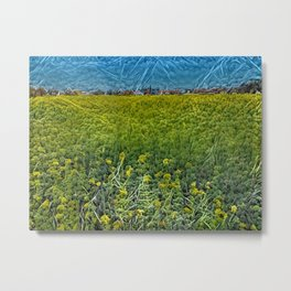That Mossy Field Metal Print