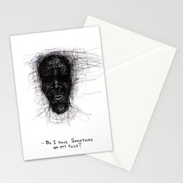 Scribble Face Stationery Cards