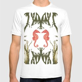 Mirroring Seahorses T-shirt